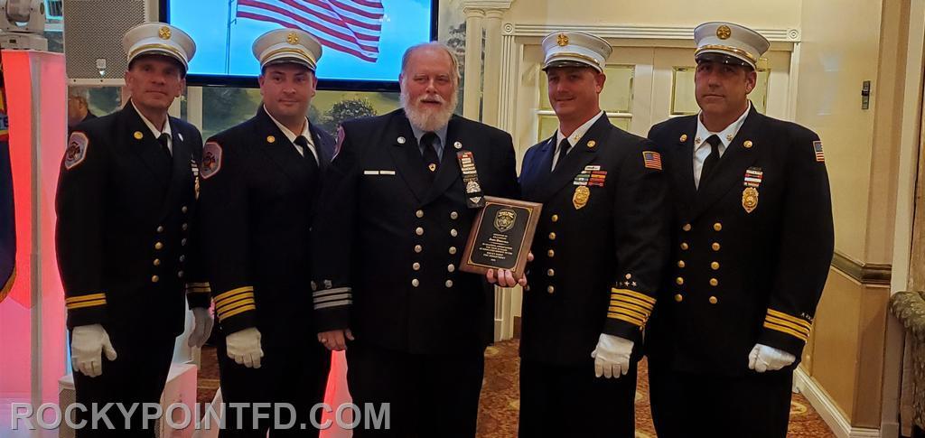 Ex-Capt. John Driscoll  50 yrs of service