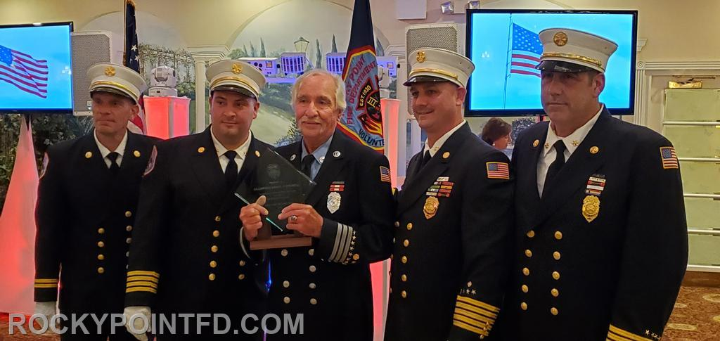 Ex-Capt. Howard Sedell 55 years of service